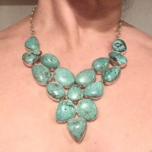 Authentic Turquoise Necklace 925